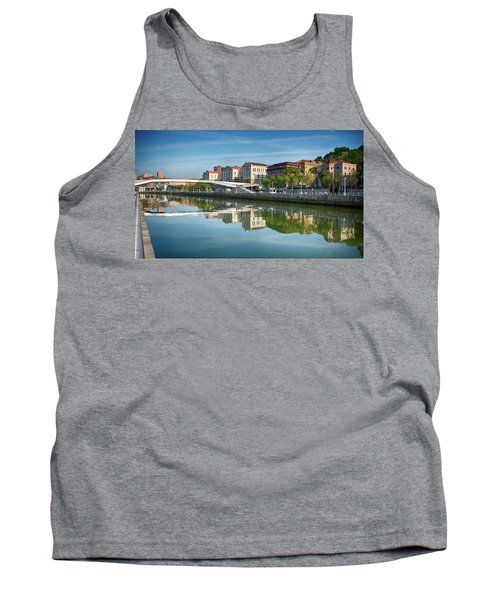 Scenic River View Tank Top by James Hammond