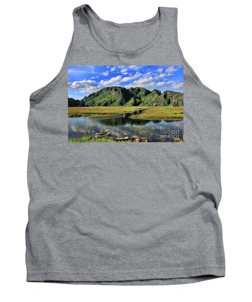 Scenic Route  Tank Top by Chuck Kuhn