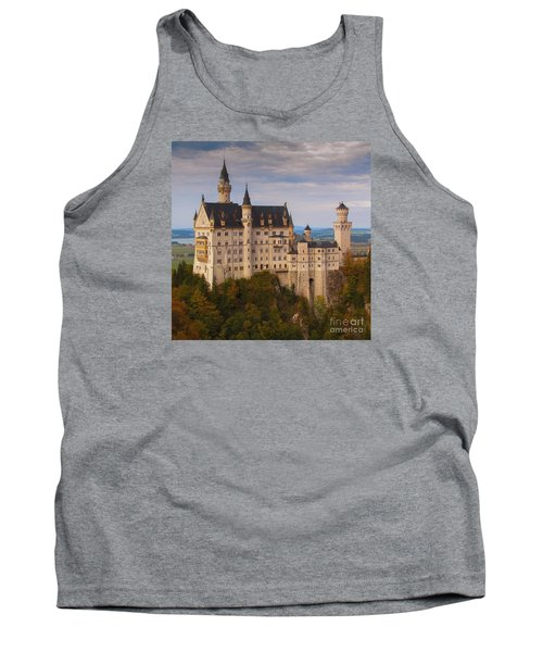 Tank Top featuring the photograph Schloss Neuschwanstein by Franziskus Pfleghart