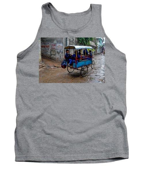 School Cart Tank Top