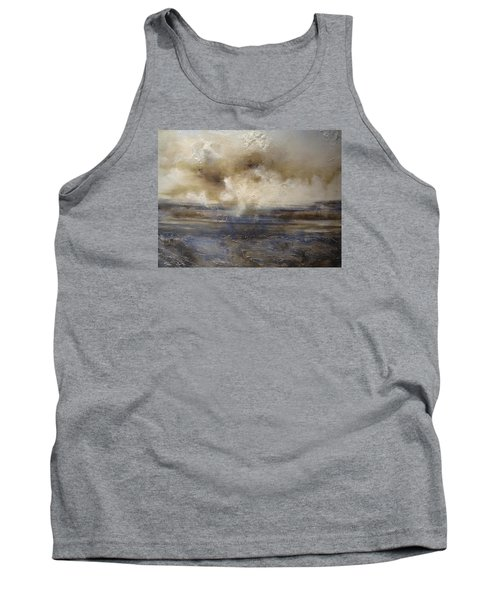 Tank Top featuring the painting Sea Breeze by Tamara Bettencourt