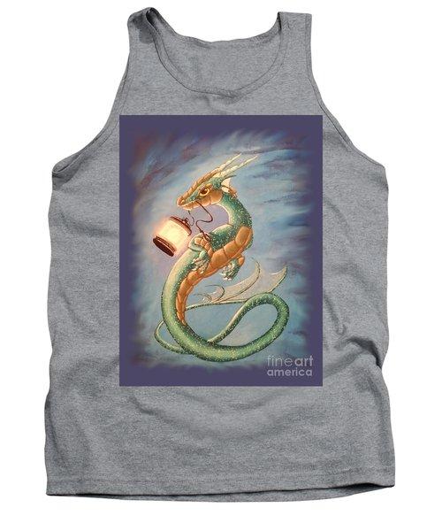 Sea Dragon And Lantern Tank Top