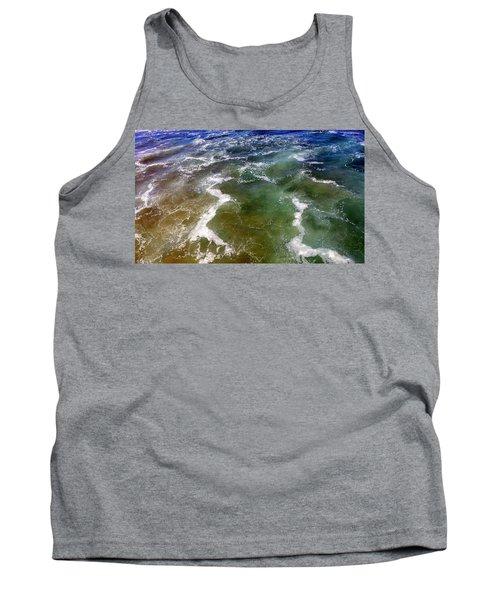 Artistic Ocean Photo Tank Top