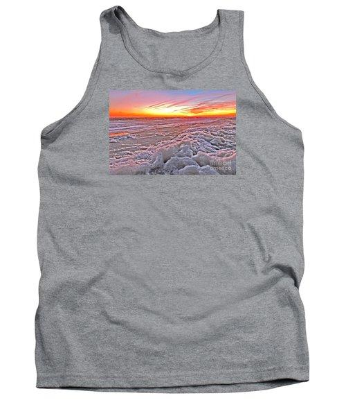 Sea Foam Sunset Tank Top