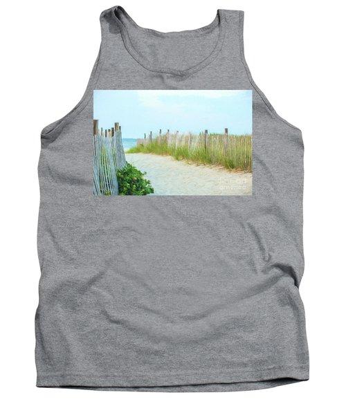 Sea Gull Beach #1 Tank Top