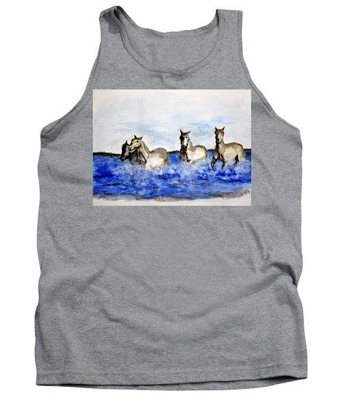 Sea Horses Tank Top