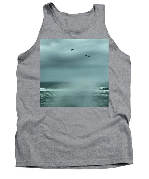 Sea Spray Tank Top by Christine Lathrop