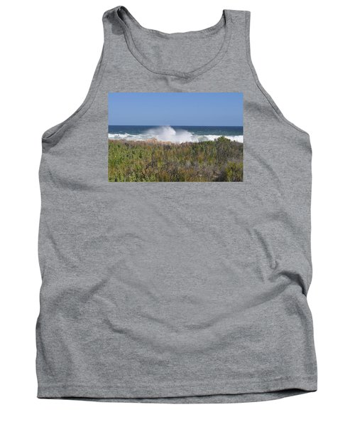 Tank Top featuring the photograph Sea Spray by Linda Ferreira