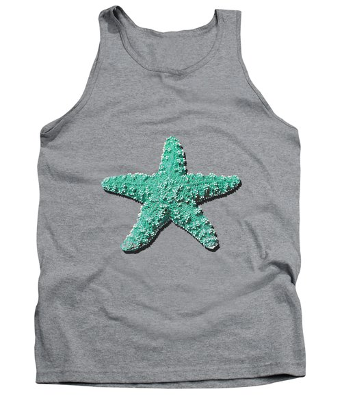 Tank Top featuring the photograph Sea Star Aqua .png by Al Powell Photography USA