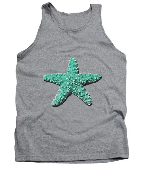 Sea Star Aqua .png Tank Top