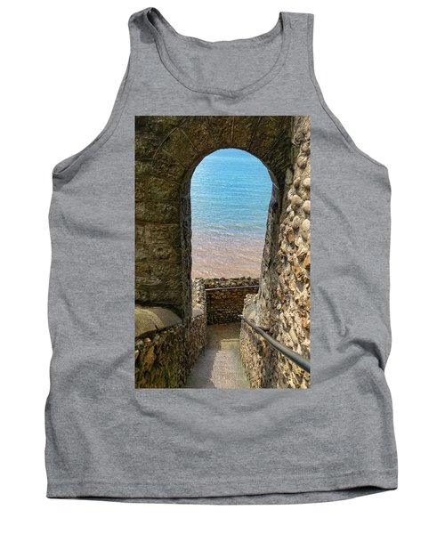Tank Top featuring the photograph Sea View Arch by Scott Carruthers