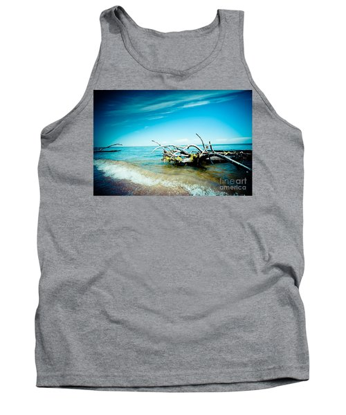 Seacost With Old Tree In Water Kolka Tank Top