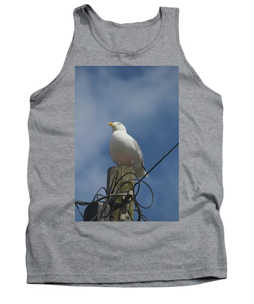 Seagull Perching. Tank Top