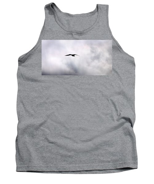 Tank Top featuring the photograph Seagull's Sky 2 by Jouko Lehto