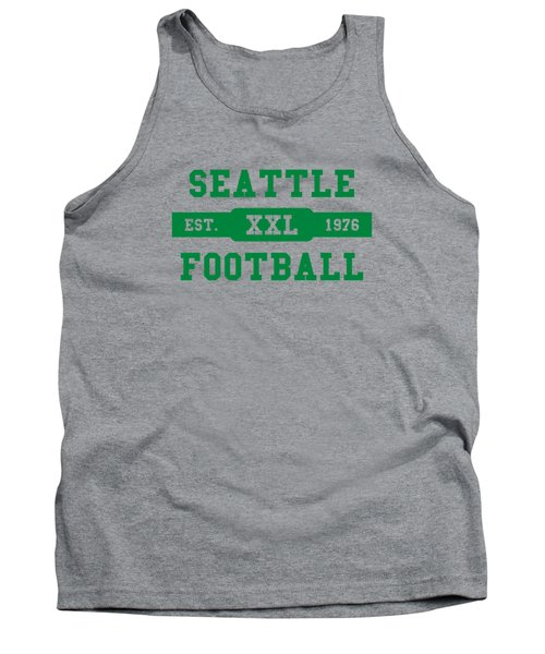 Seahawks Retro Shirt Tank Top by Joe Hamilton