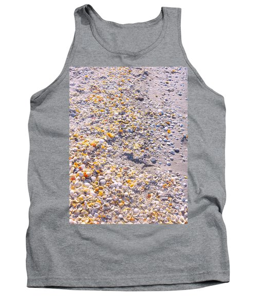 Seashells In Sanibel Island, Florida Tank Top