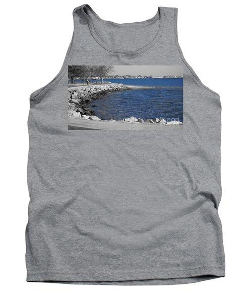 Seaside Blue Tank Top