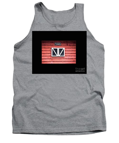 Tank Top featuring the photograph Season's Over by Laurinda Bowling