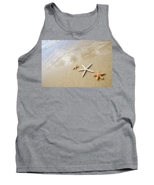 Seastars On Beach Tank Top