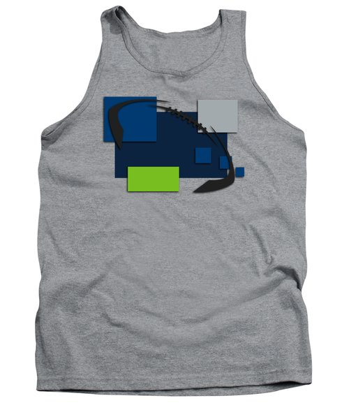Seattle Seahawks Abstract Shirt Tank Top
