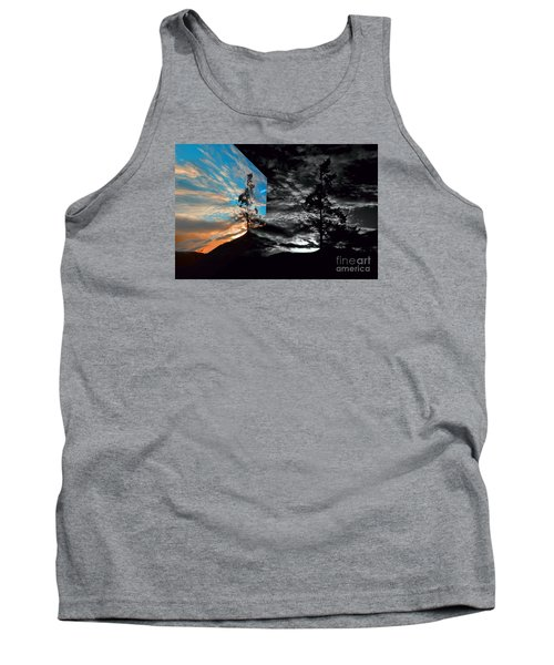 Sechelt Tree Series 3 Tank Top by Elaine Hunter