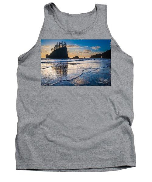 Second Beach Waves Tank Top
