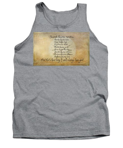 Seconds Become Eons Tank Top