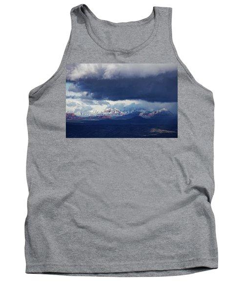Sedona Area Third Winter Storm Tank Top