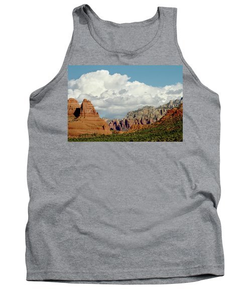 Tank Top featuring the photograph Sedona Arizona by Bill Gallagher