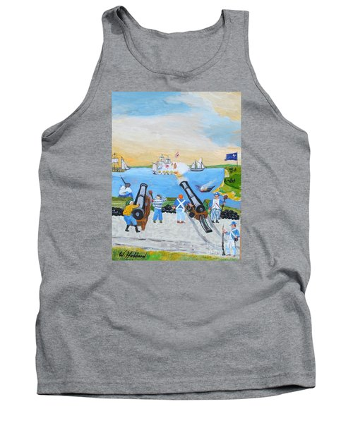 Seige Of Charleston, Sc Tank Top