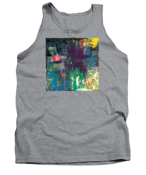 Seize The Day 48x48 Print Abstract Painting Modern Art Original Tank Top