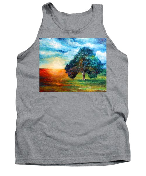 Self Portrait #3 A New Day Tank Top