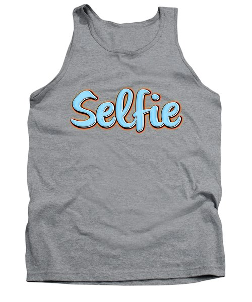 Selfie Tee Tank Top by Edward Fielding
