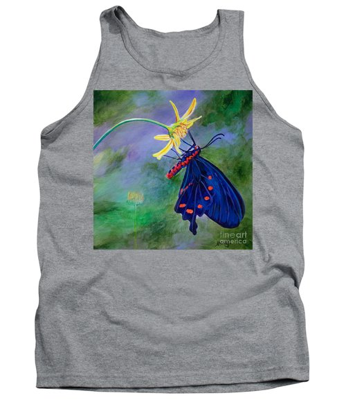 Semperi Swallowtail Butterfly Tank Top