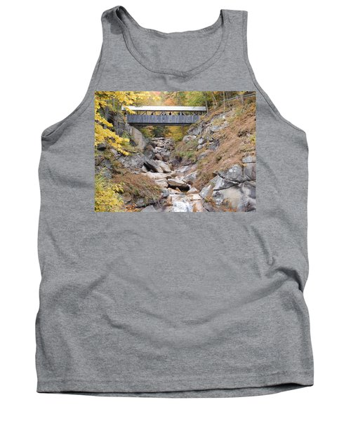 Sentinel Pine Covered Bridge Tank Top