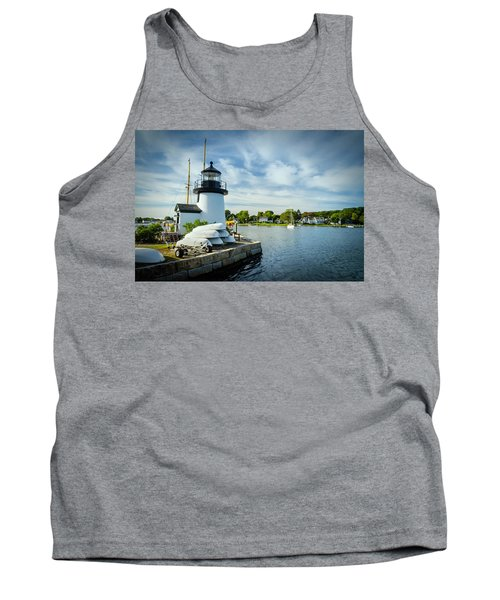 Sentinels Of The Sea Lighthouse Tank Top