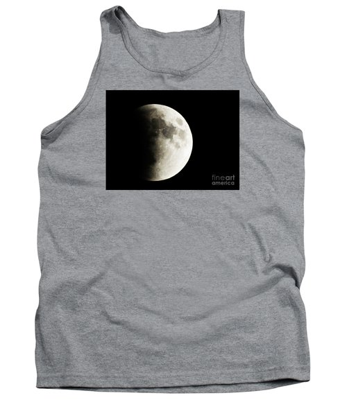 Tank Top featuring the photograph September 27,2015 Moon Eclipse  by J L Zarek