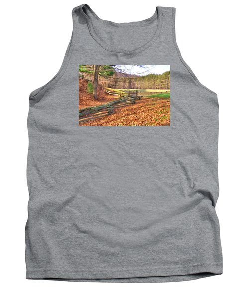 Tank Top featuring the photograph Serene Lake by Gordon Elwell