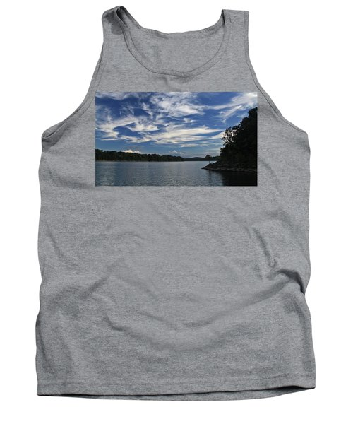 Tank Top featuring the photograph Serene Skies by Gary Kaylor