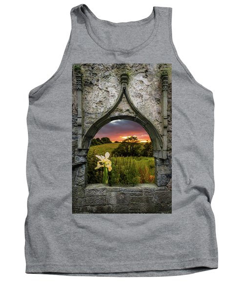 Tank Top featuring the photograph Serene Sunset Over County Clare by James Truett
