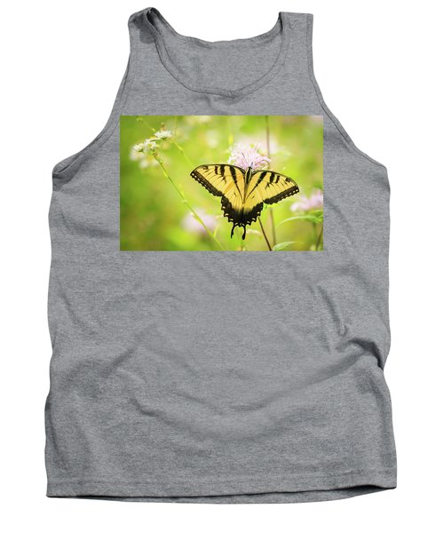 Series Of Yellow Swallowtail #6 Of 6 Tank Top