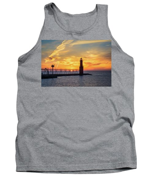 Tank Top featuring the photograph Serious Sunrise by Bill Pevlor
