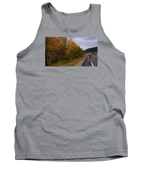 Tank Top featuring the photograph Set Your Own Pace by Laura Ragland