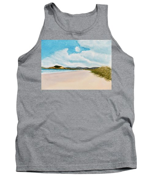 Seven Mile Beach On A Calm, Sunny Day Tank Top