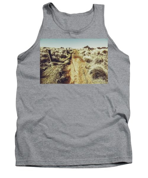 Shabby Outback Path Tank Top