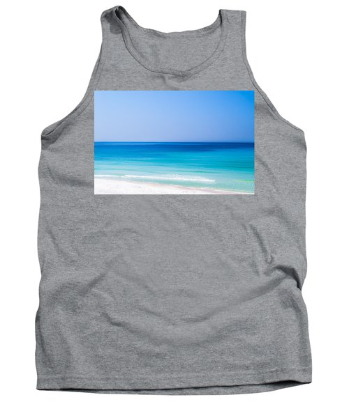 Shades Of Blue Tank Top by Shelby  Young