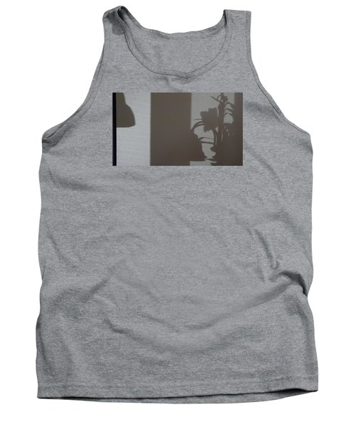 Tank Top featuring the mixed media Shadow Panel 1 by Don Koester