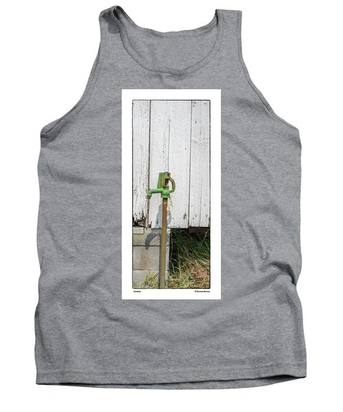 Tank Top featuring the photograph Shadow by R Thomas Berner