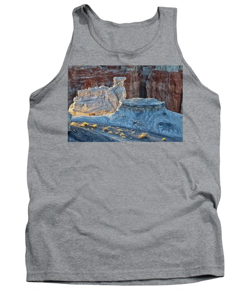Shadows At Coal Mine Canyon Tank Top by Tom Kelly