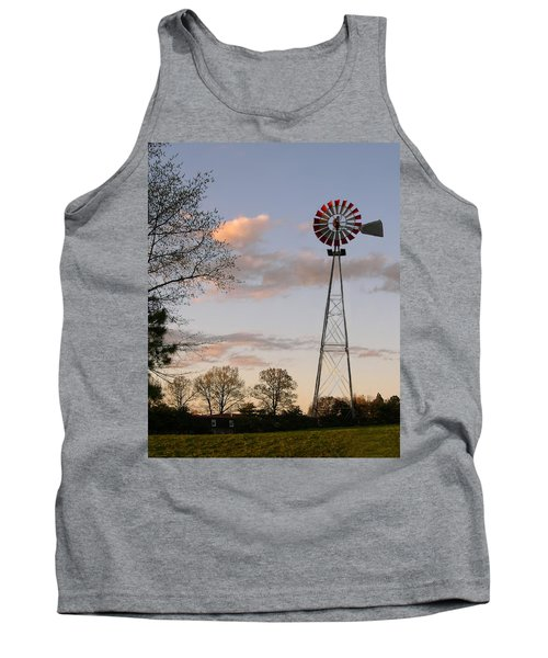 Tank Top featuring the photograph Shadows Fall  by Bonnie Willis